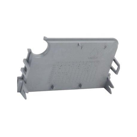 Pc board lower guard Castelgarden 127600118/0