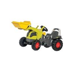 Traktor Claas Elios z ładowaczem czoł. Rolly Toys