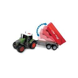 Traktor Fendt z przyczepą Fliegl Dickie