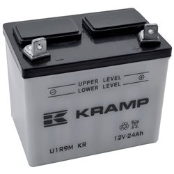 Akumulator motocyklowy, 12 V, 24 Ah, z elektrolitem