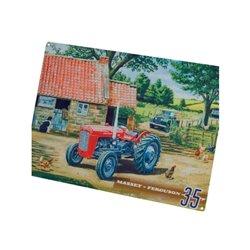 Plakat Massey Ferguson 35 Tractorfreak