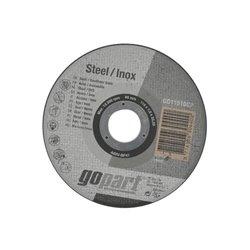Tarcza do cięcia stal / inox , płaska, 115 x 1,0 mm Gopart