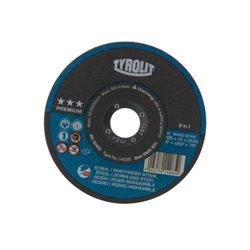 Tarcza do cięcia stali / inox Premium 2in1 , 125 x 1,6 mm Tyrolit