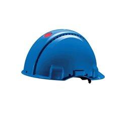 Kask ochronny G3000, niebieski 3M