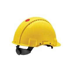 Kask ochronny G3000, żółty 3M