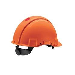 Kask ochronny G3000, pomarańczowy 3M