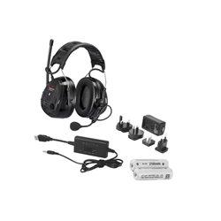 Słuchawki Peltor WS ALERT XP, z ACK i opaską na głowę 3M