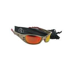 Okulary ochronne Fuel, czerwone 3M