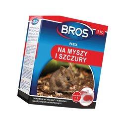 Pasta na myszy i szczury 2kg Bros