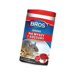 Ziarno na myszy i szczury , 300 g Bros