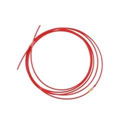 Akcesoria do palnika MIG/MAG , teflonowy rdzeń liny czerwony 3,5 m 1,0 - 1,2 mm TBi
