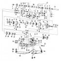 Rozdzielacz wewnętrzny BM 1110 - napęd mimośrodkowy